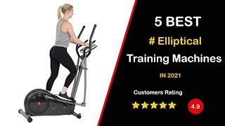 ✔️ Top 5: Best Elliptical Machine for Home Use in 2021 [Perfect Picks For Any Budget]