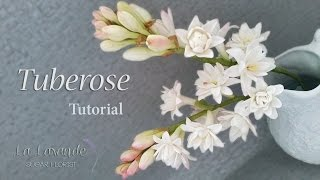 How To Make A Gumpaste Tuberose Flower Tutorial
