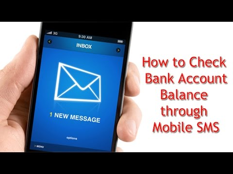 How to check bank balance through missed call - [in Telugu]