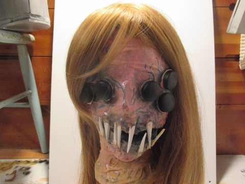 How to: Make a Spider Girl Alien Head