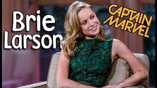 Download Every Brie Larson with Craig Ferguson! (Captain Marvel) Video