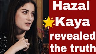 Hazal Kaya did not want to play in the series Bizim Hikaye