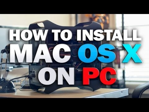 How to Install Mac OS X Mountain Lion on a PC - Part 2