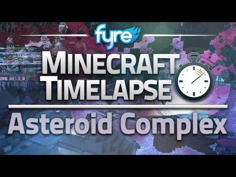 Minecraft Timelapse - ASTRON : Asteroid Complex