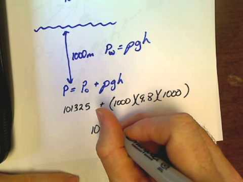 Physics Unit 9.4 Pressure at Depth