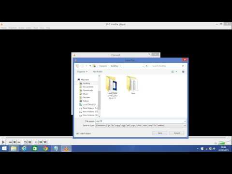 how to remove audio from video easily using vlc media player