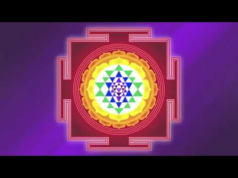 The Color Violet and The Sri Yantra To Create Life