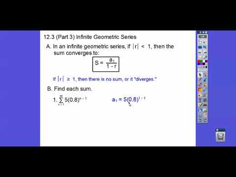 Infinite Geometric Series - Module 12.3 (Part 3)