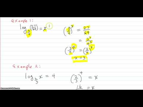 Solve for x in a log equation