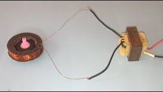 How to make 15V AC motor , Easy way to make small AC step motor .150RPM motor