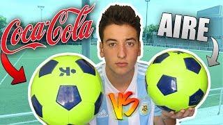 BALON RELLENO de COCA COLA VS de AIRE !! [bytarifa]
