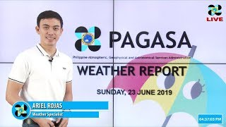 Download Public Weather Forecast Issued at 4:00 PM June 23, 2019 Video