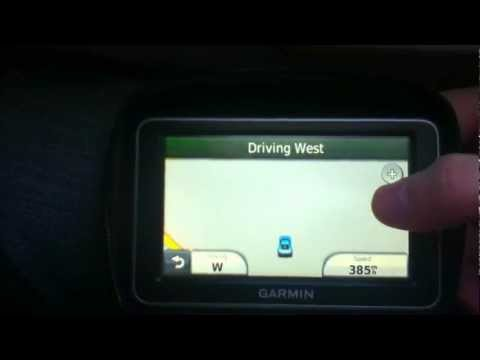 Turning On My Car GPS While in an Airplane