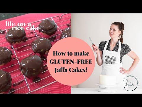 Really easy gluten-free Jaffa Cakes!