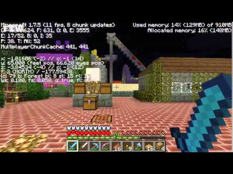 Minecraft - How To Find (and use) Your Coordinates - #askFTW