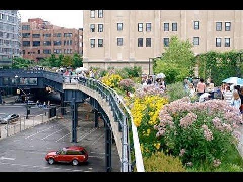 Vlog - Chelsea Market - High Line - New York.