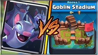 BATS TROLLING ARENA 1 IN CLASH ROYALE | FUNNY MOMENTS & BATS GAMEPLAY!