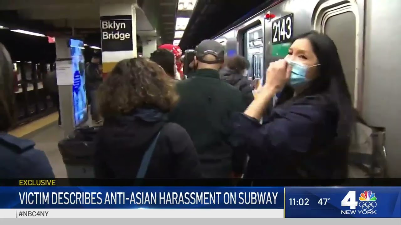 Victim of Anti-Asian Harassment Says No One Helped Except Homeless Man | NBC New York