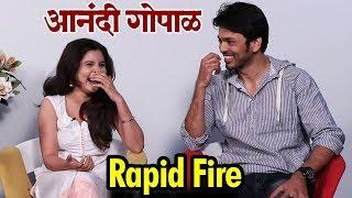 Anandi Gopal आनंदी गोपाळ   Rapid Fire With Lalit Prabhakar & Bhagyashree Milind   Zee Studios