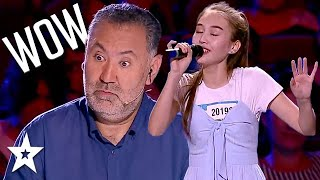 Judges Are SHOCKS At Her Singing Voice on Central Asia's Got Talent | Got Talent Global