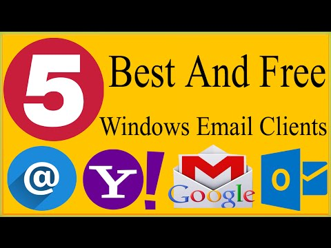 5 Best, Free And Safe To Use Email Clients For Windows 10, Windows 7, 8, Vista, XP