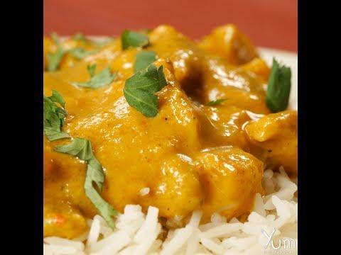 Easy way to make Mango Chicken Curry