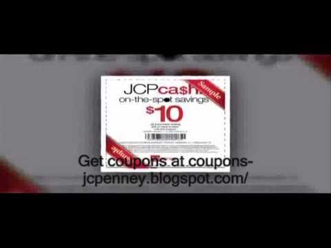 JCPenney Coupons 2013 - JCPenney Printable Coupons