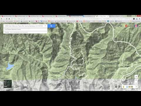 How to use Google Maps to find what watershed you live in