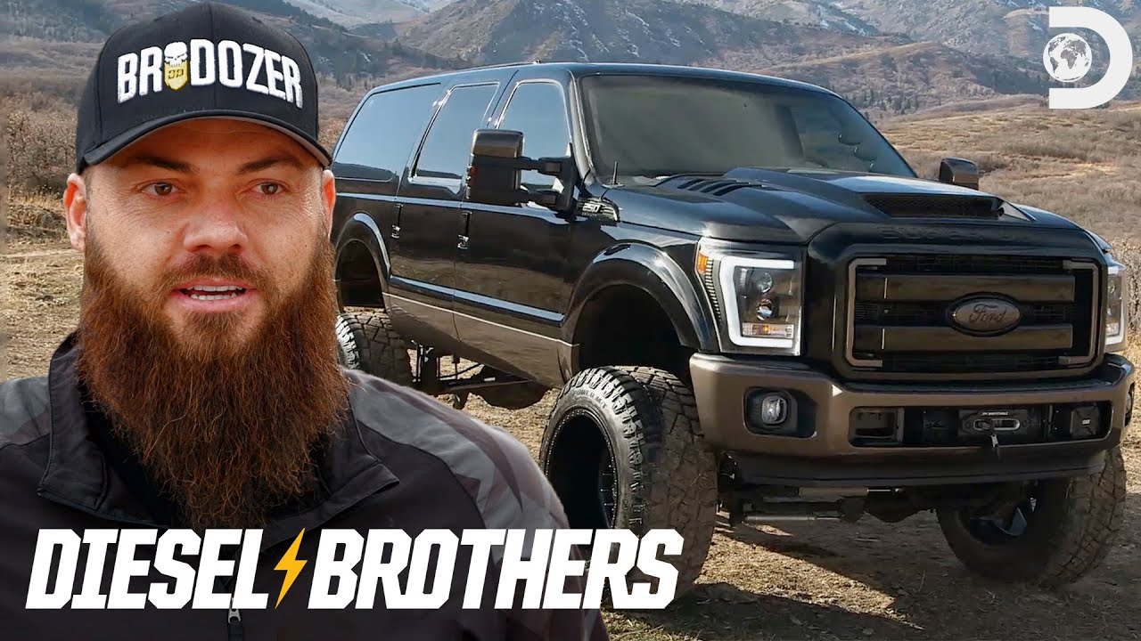 Giving Away a Rare Ford Excursion | Diesel Brothers