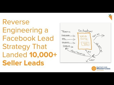 Reverse Engineering A Facebook Lead Strategy That Landed 10,000+ Seller Leads