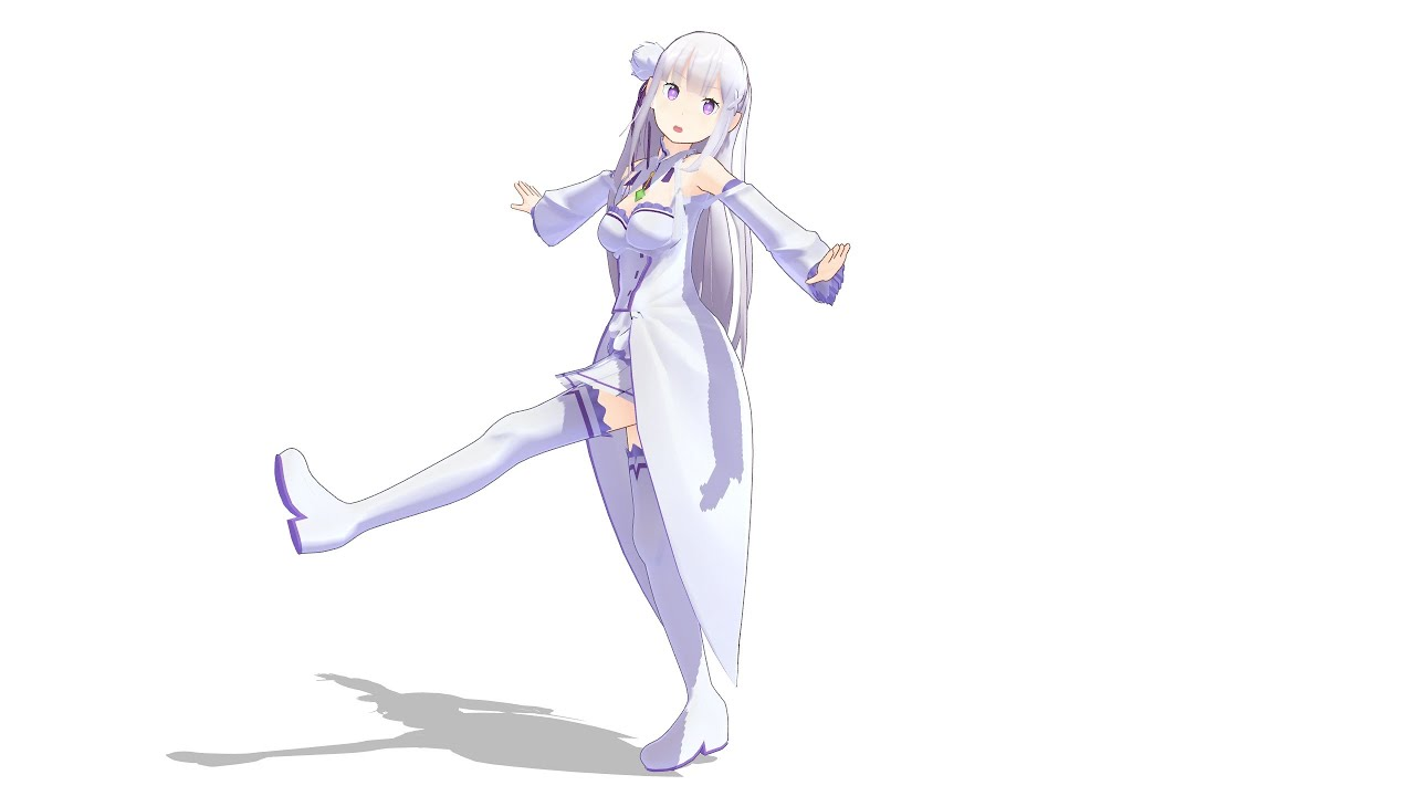 Re : Zero Emilia - Love Decoration - Dance (恋愛デコレート)  MMD