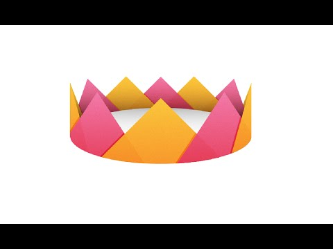 How To Make A Paper Crown | PaperMade | Easy Tutorial | DIY