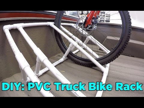 How to Build a PVC Truck Bed Bike Rack for $25