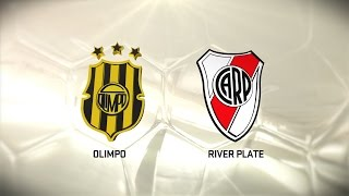 Olimpo vs. River. Fecha 14. Torneo de Primera División 2016/2017. FPT