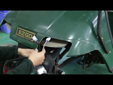 Golf Cart Headlight LED Tail Light Kit Fits EZGO 1996 - 2013 TXT Installation Video