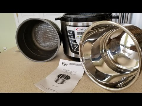 Power Pressure Cooker XL replacement 6qt stainless inner pot