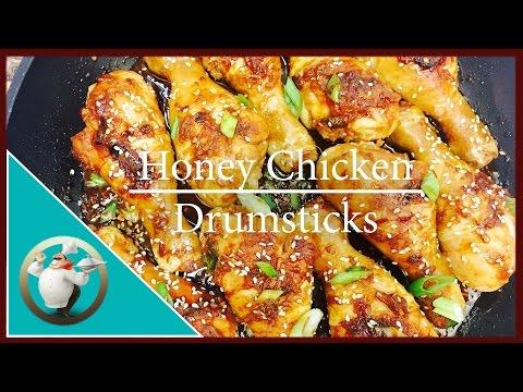 How to make Honey Garlic Chicken Drumsticks | Easy Delicious Honey Garlic Chicken Thigh Recipe