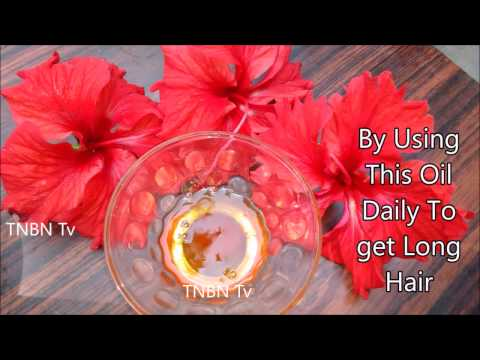 homemade hair oil for faster hair growth | how to make hibiscus oil for hair growth
