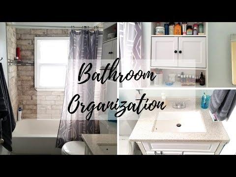 Bathroom Organization & Tour | Target Haul | Minimalist Living