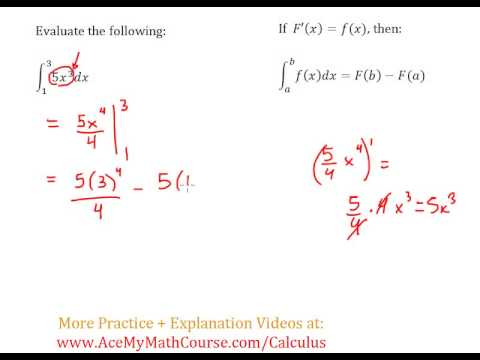Definite Integral (Calculus) - Worked Example #1