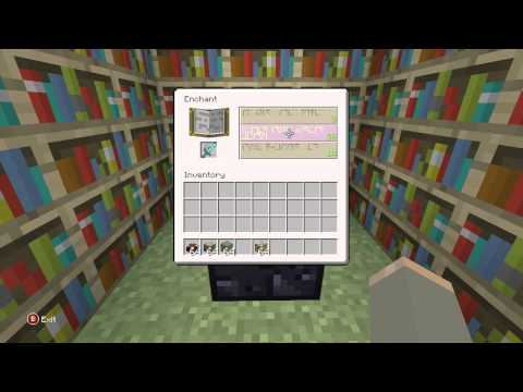 Minecraft PS3 - How To Get Max Level Enchantments
