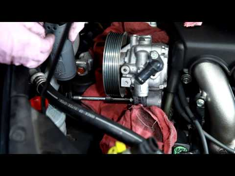 2003-2007 Honda Accord Power Steering pump remove and install