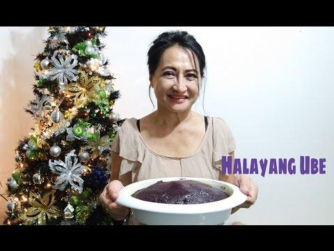 How to make Halayang Ube