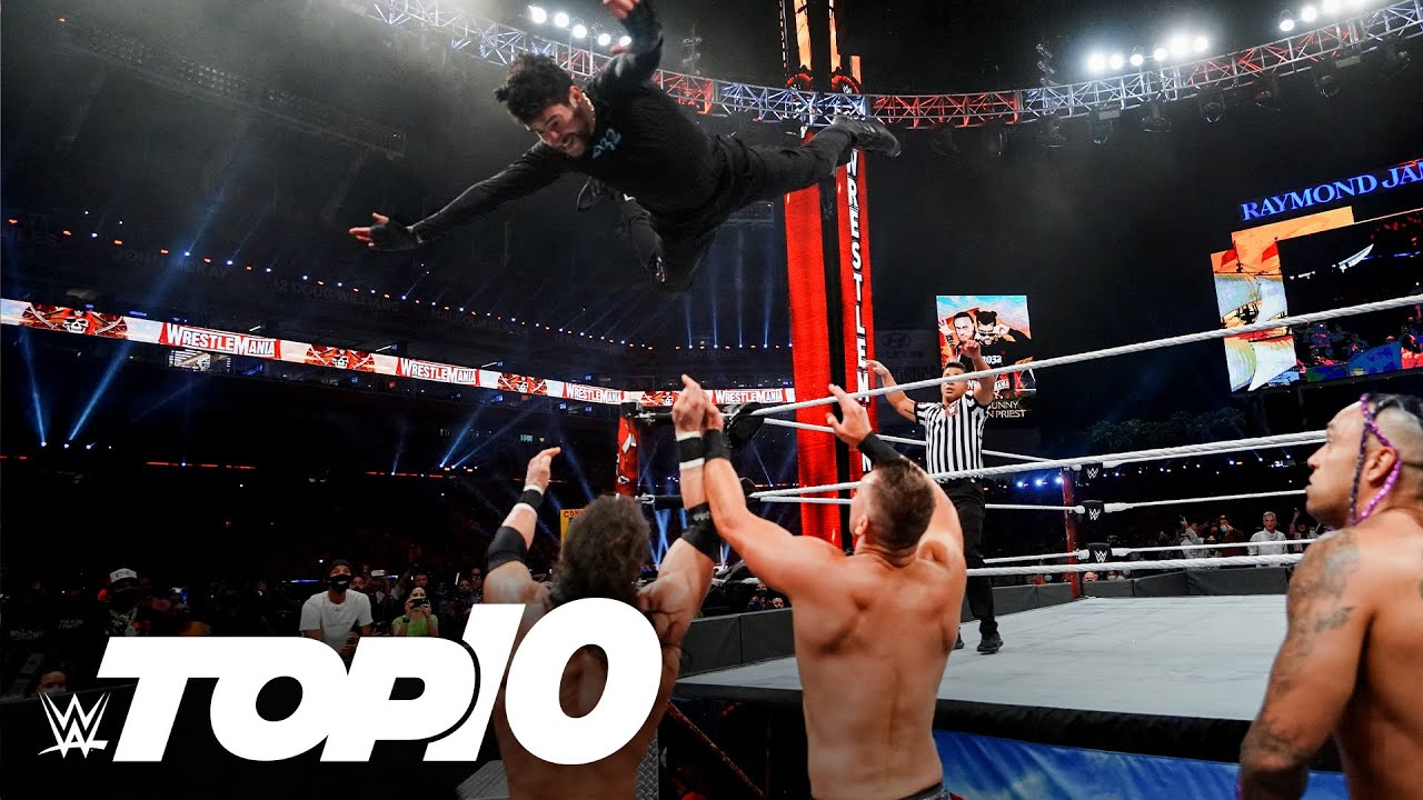 Bad Bunny's greatest WWE moments: WWE Top 10, April 14, 2021