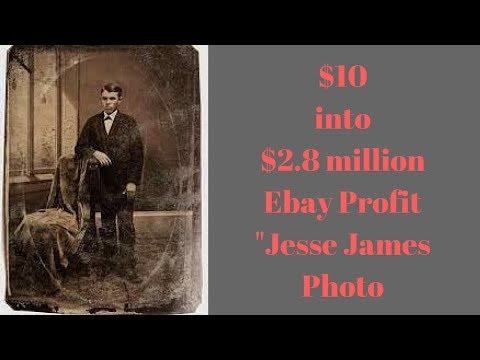 $10 into $2.8 million on Ebay. British Guy SCORES BIG