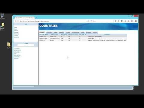 Generating Schema Documentation with SQL*Developer