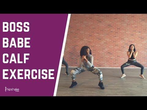 Calf Strengthening Exercise For Women | 5 Minutes To Stronger Calves