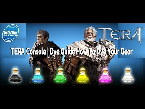 TERA Console | Dye Guide | How To Dye Your Gear On TERA