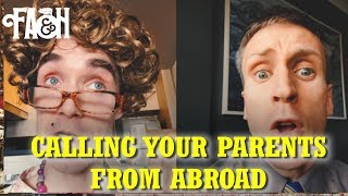 Calling your Parents from Abroad - Foil Arms and Hog