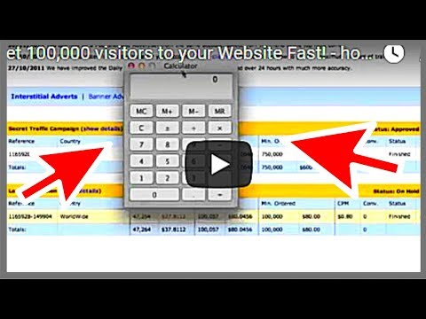 Get 100,000 visitors to your Website Fast! - how to drive traffic to your website 2018